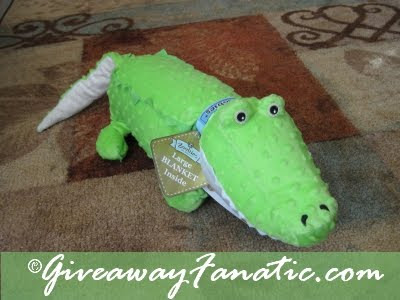Zoobies Blanket Pets, Kojo the Croc, Pillow Pet