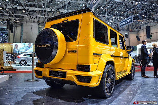 mercedes gelandewagen yellow