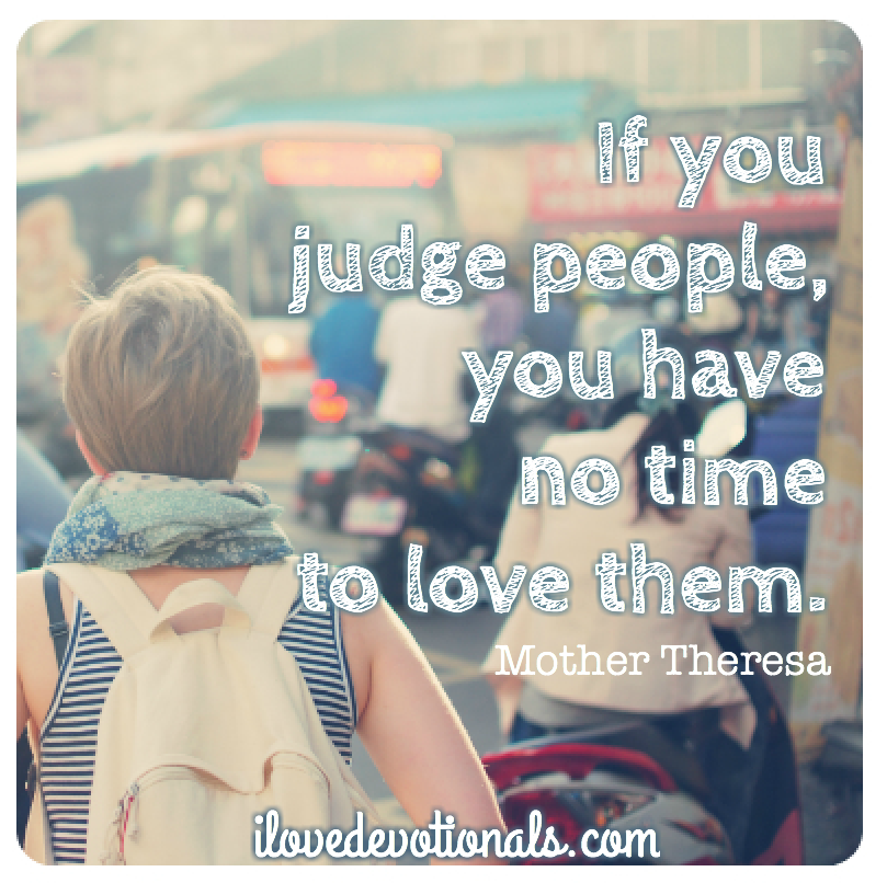 Mother Theresa quote on love