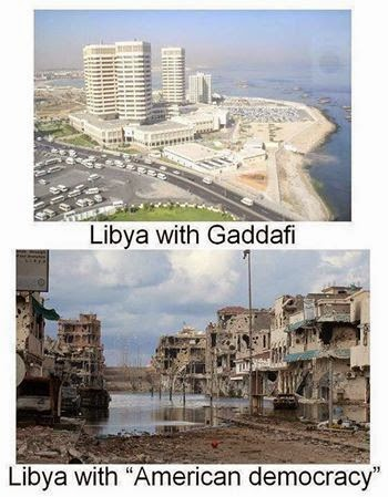 Libya under Gaddafi, Libya under democracy