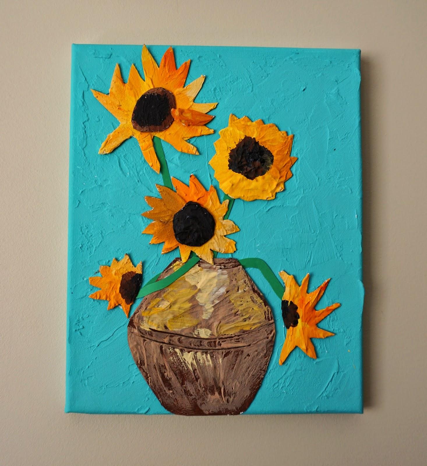 That Artist Woman Van Gogh Sunflowers