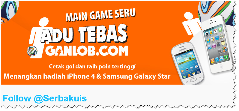 Main Game Berhadiah iPhone 4 dan Samsung Galaxy Star