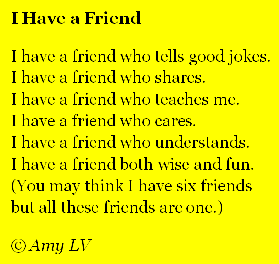 cute poems for your best friend. Teen friendship poems, cute