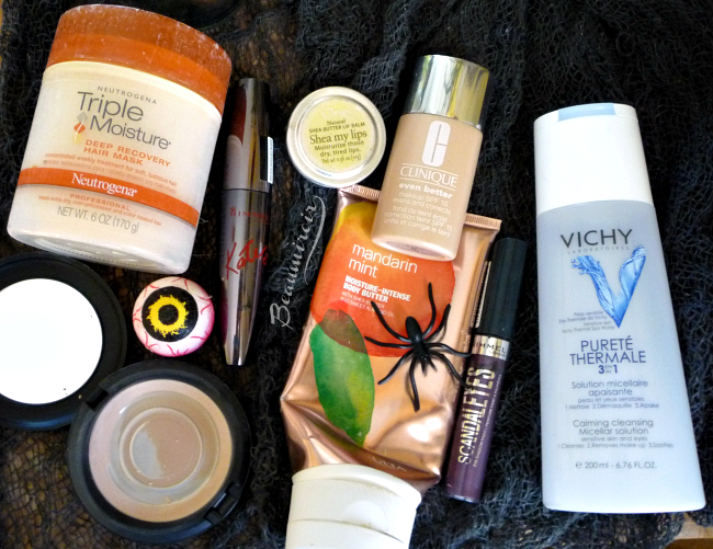 Empties and products getting purged