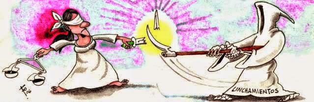 linchamientos, justicia por mano propia, sin Ley, anomia
