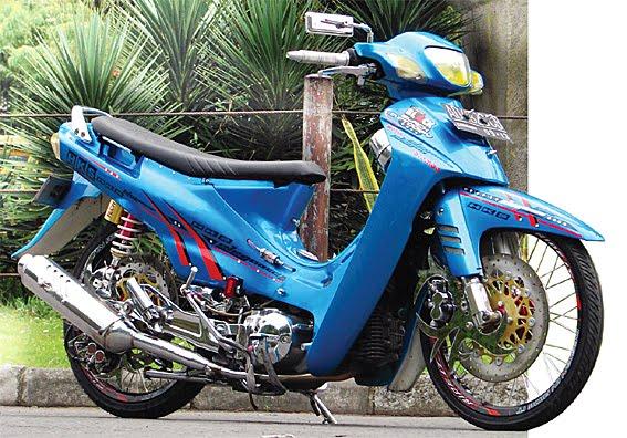 Foto Modifikasi Motor Suzuki Shogun Terbaru 2015