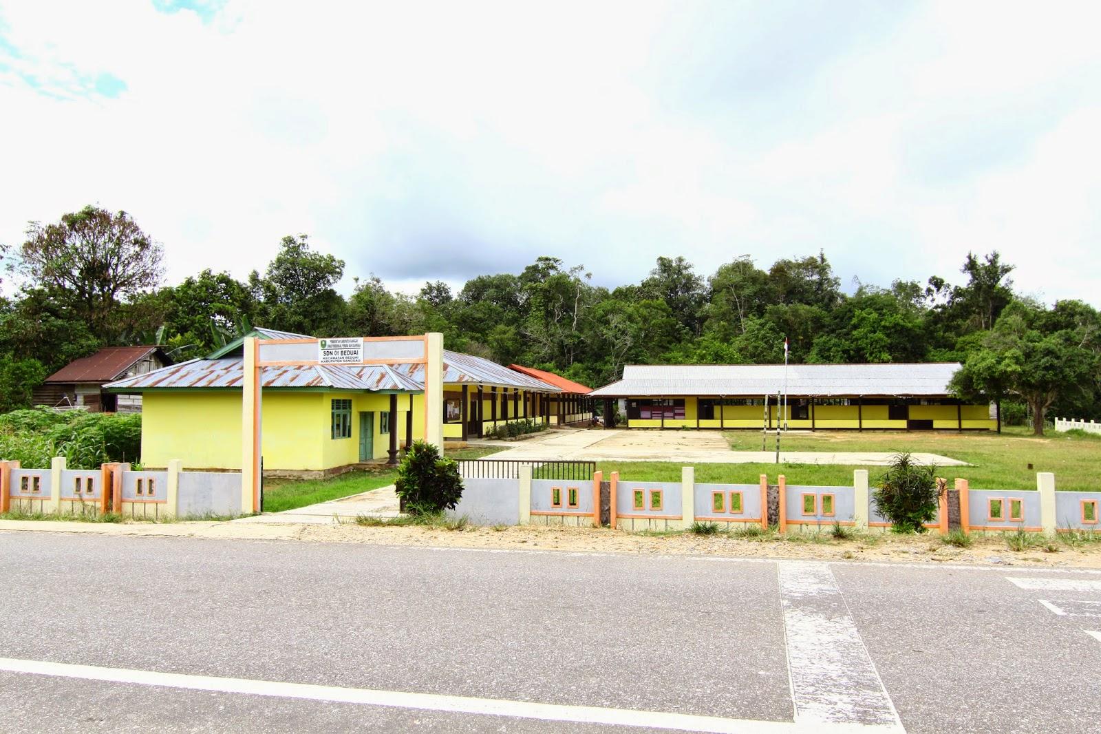 Sekolah rendah yang terdapat di dalam kawasan Beduai