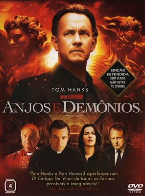 Filme Anjos E Demônios Dublado AVI DVDRip