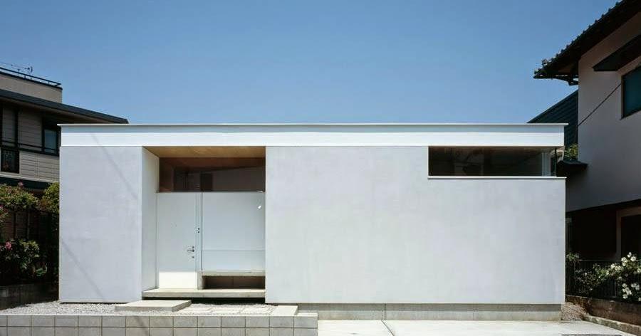 Arquitectura de casas moderna casa residencial for Casa minimalista blog