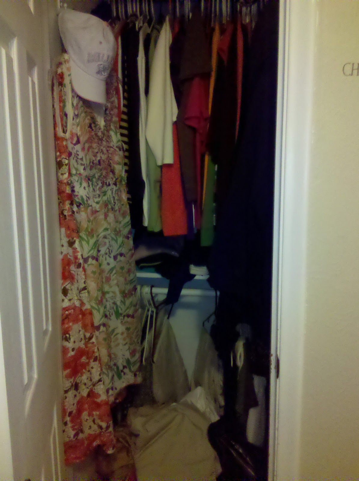 Speaking Of My Over Crowded Closetu2026 Iu0027ve Been Meaning To Clean It Out And  Get Rid Of Clothes I Donu0027t Want Anymore. Or Donu0027t Fit. *pretend I Didnu0027t  Say That ...