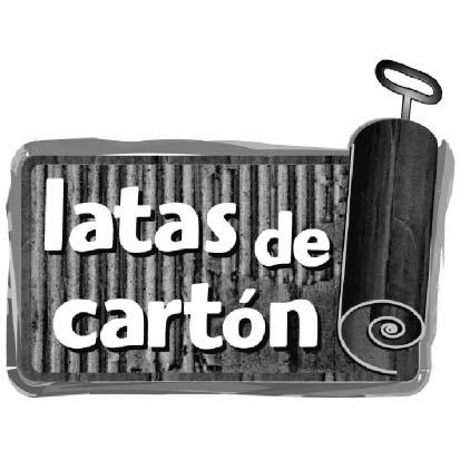 LATAS DE CARTÓN