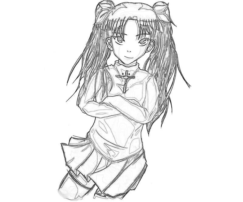 rin-tohsaka-funny-coloring-pages