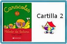 "MÉTODO DE LECTURA ""CARACOLES"" CARTILLA 2"