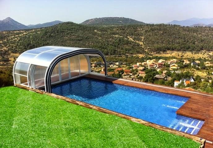 Cerramientos de casas rurales salida de humos for Cubiertas para piscinas madrid
