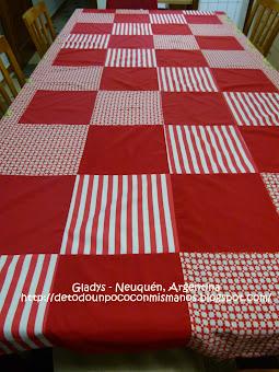 (24) 07/12: Nuestro nuevo mantel