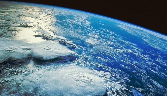 Inilah Wujud Awal Permukaan Bumi