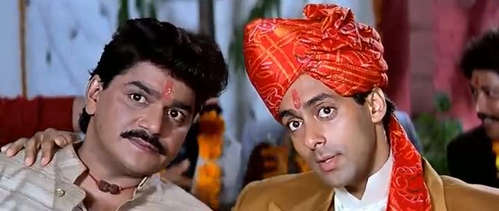 Screen Shot Of Hindi Movie Hum Aapke Hain Koun 1994 300MB Short Size Download And Watch Online Free at worldfree4u.com