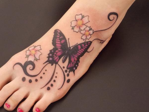 Butterfly Tattoos Designs for Girls