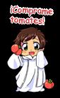 El vendedor de tomates