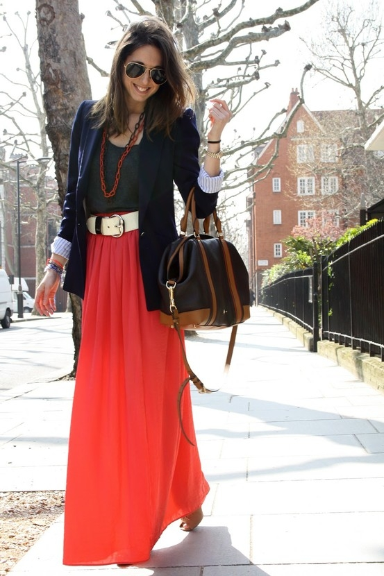 Hot New Fashion Trends: How to Use Long Skirts