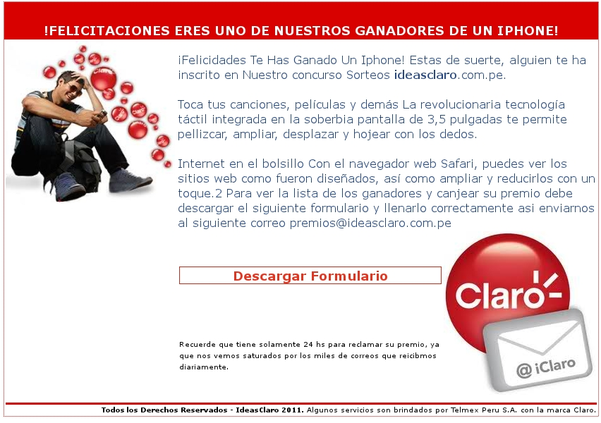 El Heraldo de Cusco: NUEVA AMENAZA DE VIRUS EN CORREO FRAUDULENTO DE