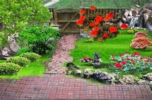 Taman minimalis yang Indah
