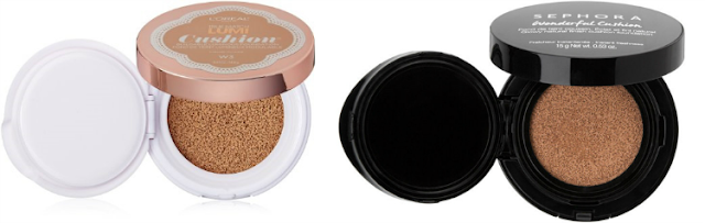 L'Ooreal True Match Lumi Cushion i SEPHORA Color Control Cushion Compact Broad Spectrum