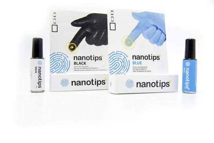 塗布するだけで、なんでもタッチスクリーン操作可能にしちゃう「NANOTIPS」がスゴイ。