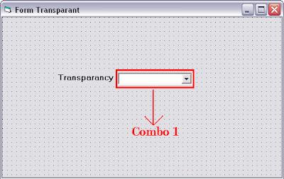 Cara Membuat Form Transparant Menggunakan Visual Basic 6.0