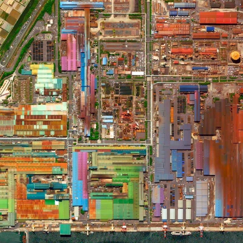 Industrial sector Tokai Aichi, Japan