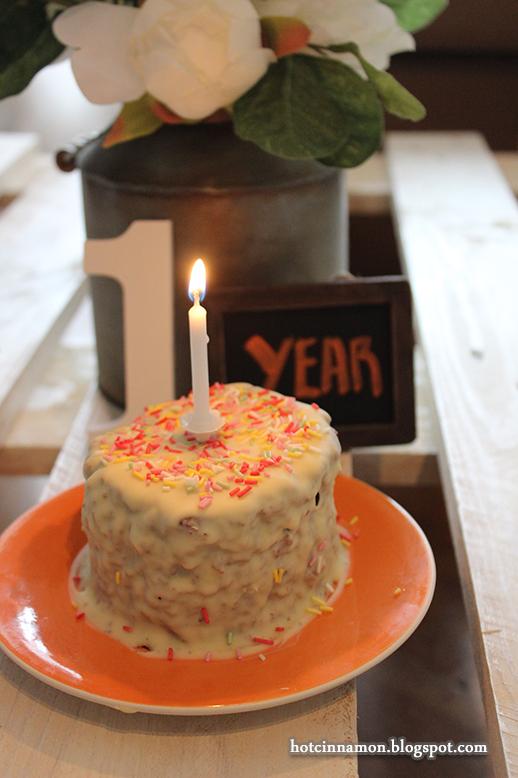 primer año blog