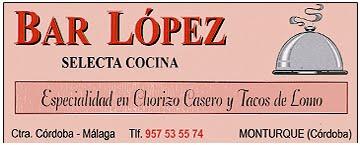 BAR LÓPEZ - FLORES