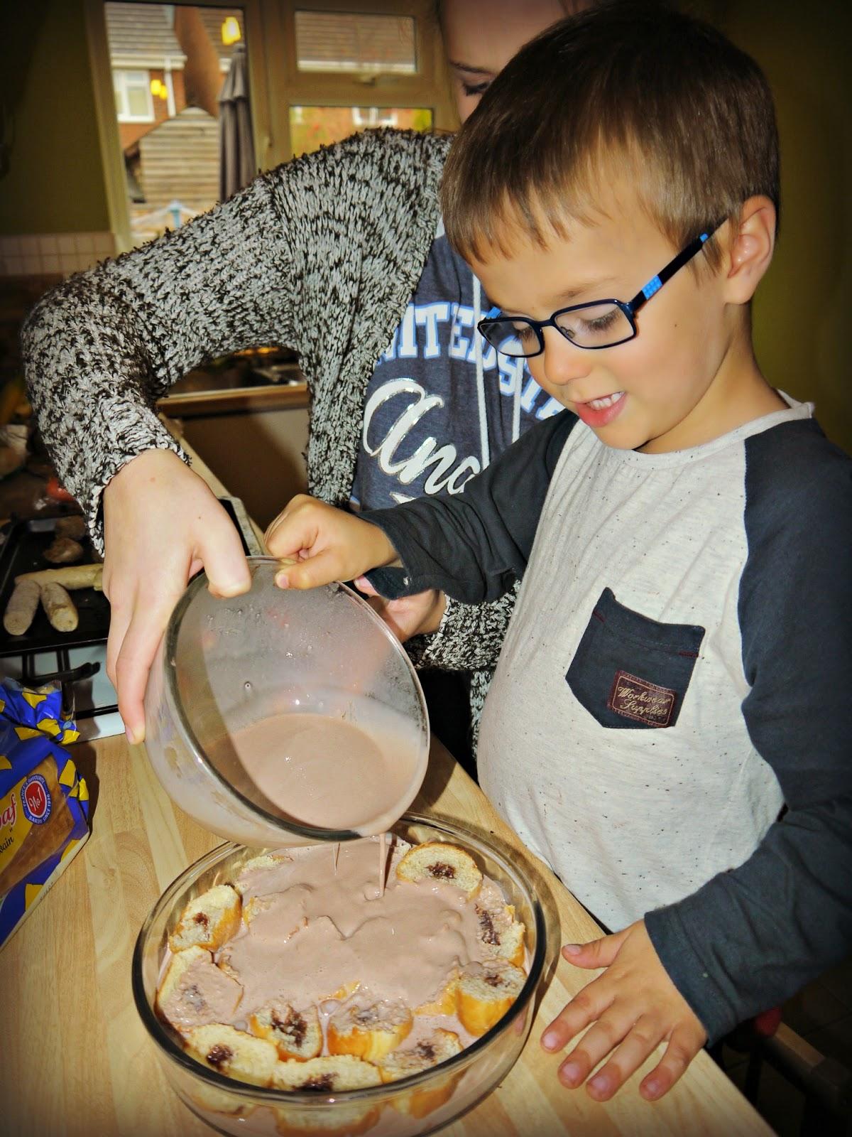 brioche pudding
