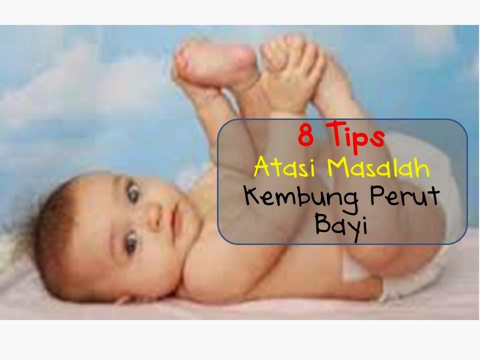 8 tips atasi masalah kembung perut bayi