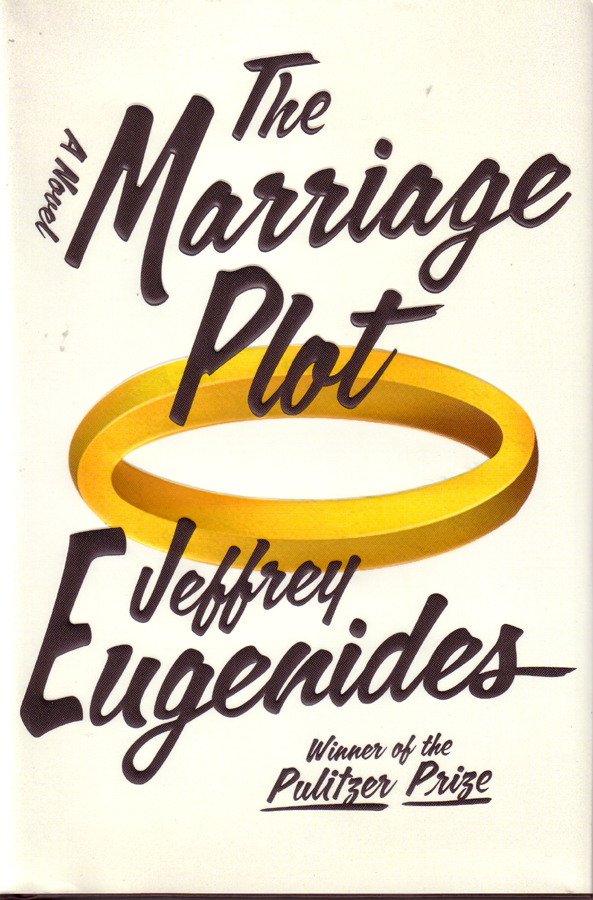 Jeffrey Eugenides The Marriage Plot Hardcover book cover review