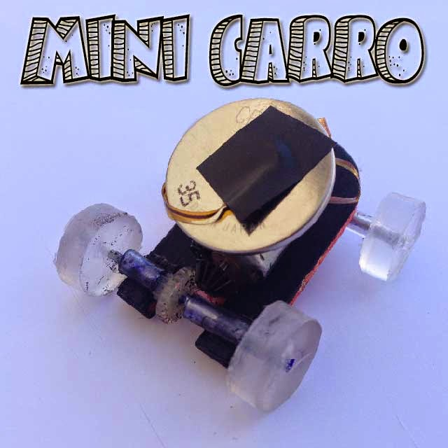 Mini Carro eléctrico casero inventos caseros