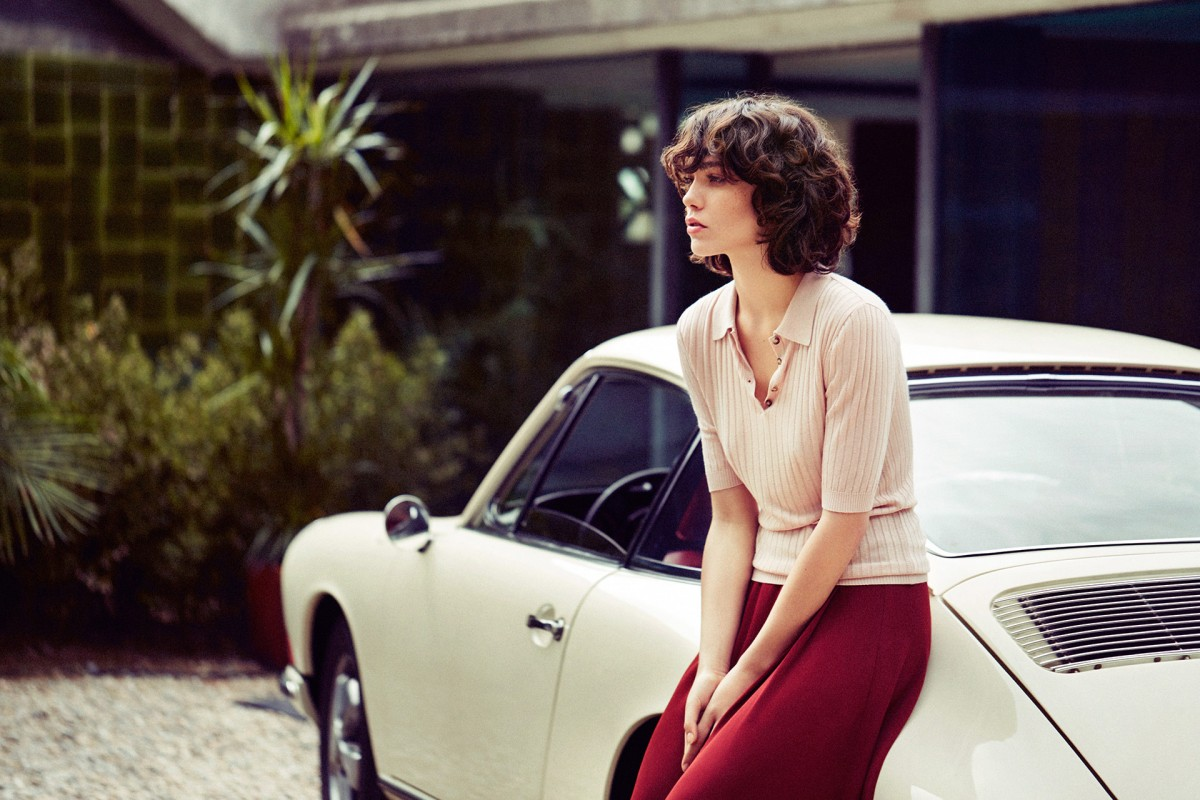 Steffy Argelich photographed by Quentin de Briey for Mango Premium Fall 2015 campaign via fashioned by love / british fashion blog