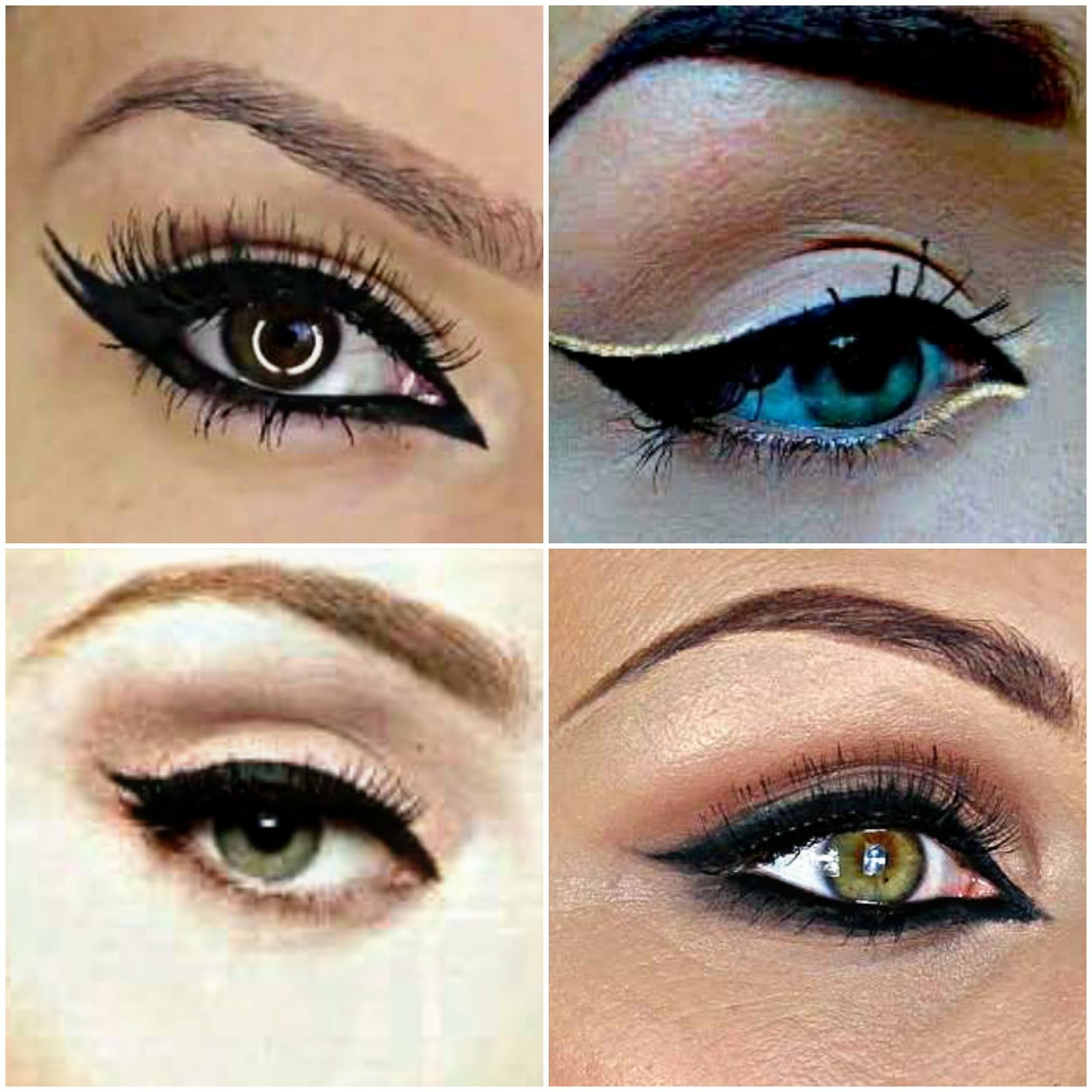Almond Eyes Are Amazing To Try Arabic Eyeliner On! As Your Eyes Are Round  And Have Width At The Same Time, And Also The Lid Is Pretty Prominent;