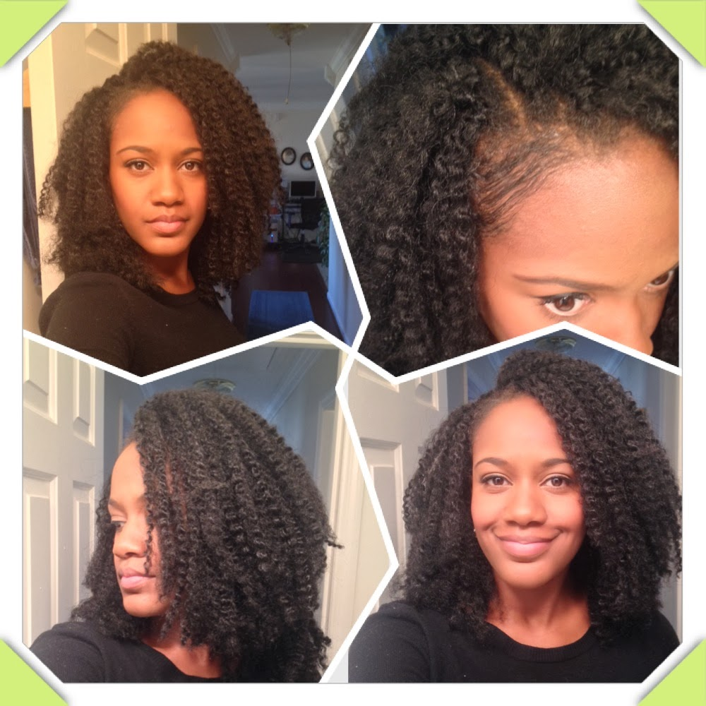 Marley Hair Crochet Braids with Leave Out