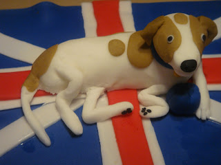 Fondant Dog Sculpture