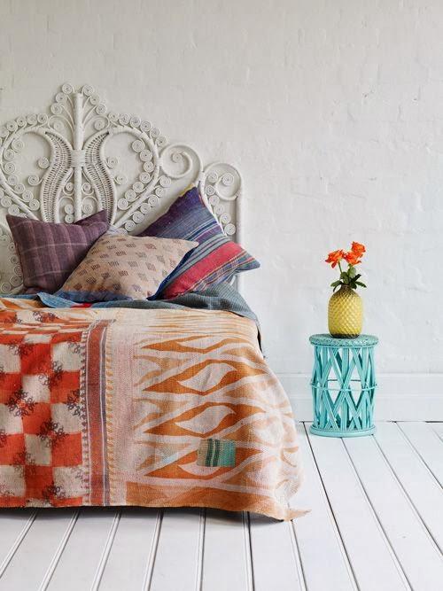Jarrah jungle aztec bedroom inspiration for Aztec decoration