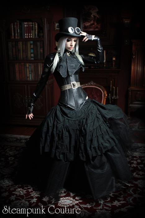 Fashion And Action Steampunk Couture By Kato Fall Winter 2011 Preview