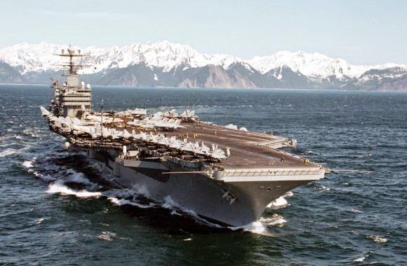 Kapal Induk USS Abraham Lincoln