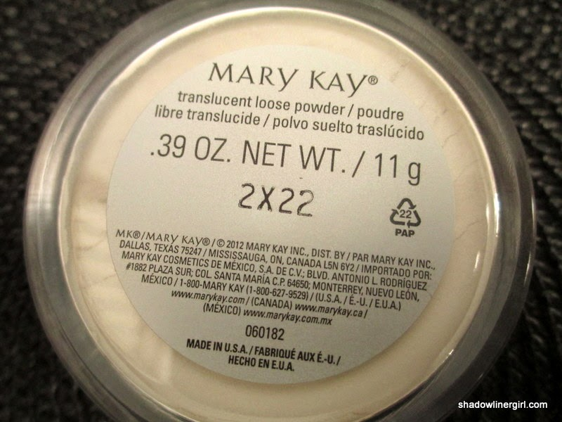 Mary Kay Translucent Powder Review