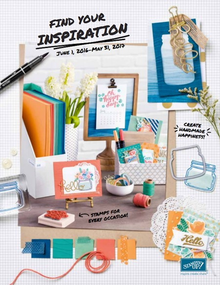 2016-2017 Stampin' Up Catalog