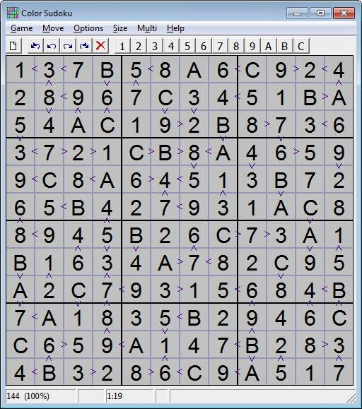 Color Sudoku Screenshot image 3