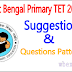 West Bengal Primary TET 2015 Suggestion & Question pattern