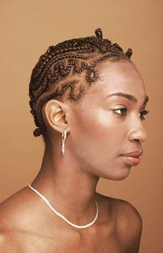 Cornrows designed for Your TWA