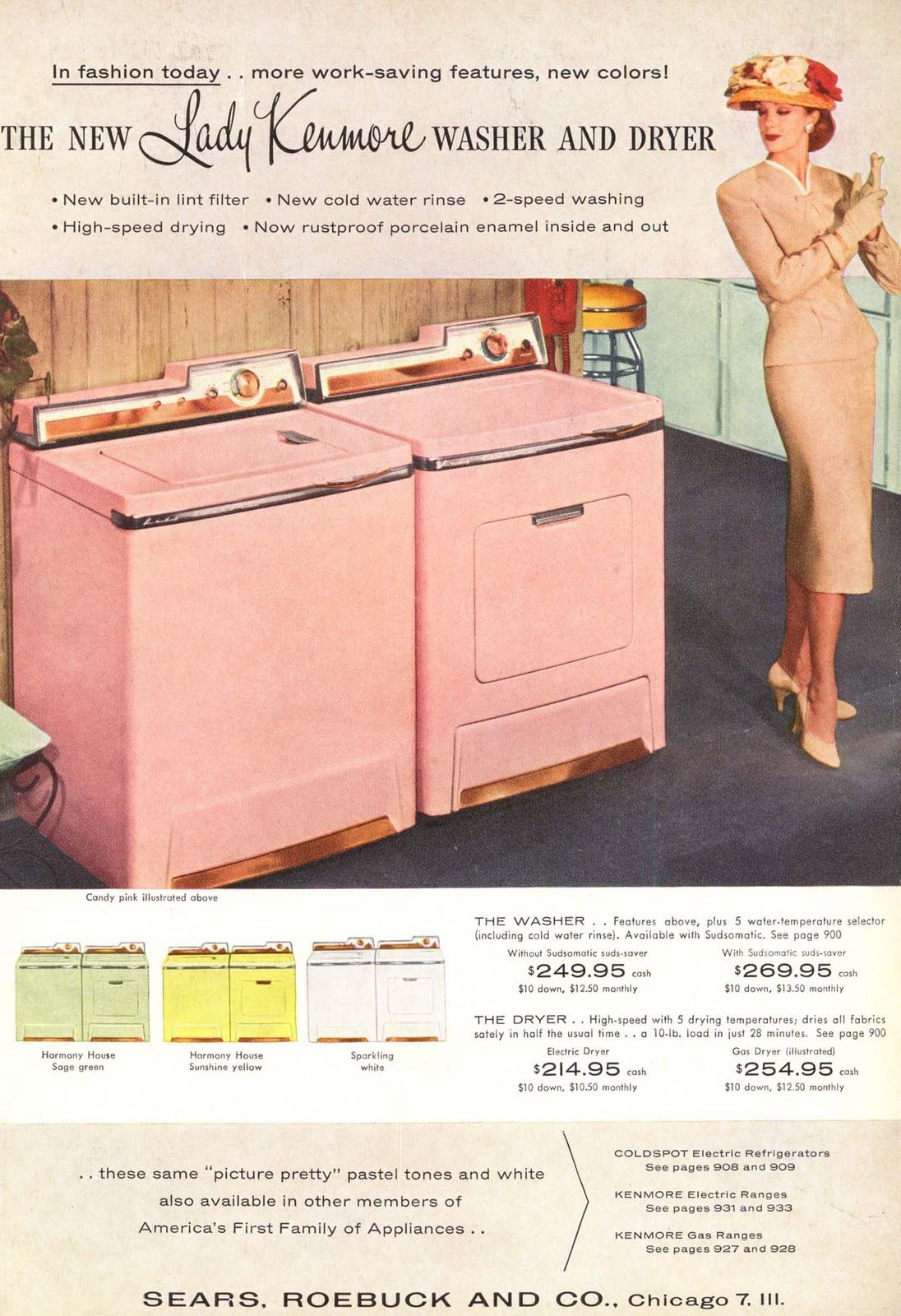 Biscuit colored washer and dryer - Http 4 Bp Blogspot Com M2t0q6kfxbo Ty_1od
