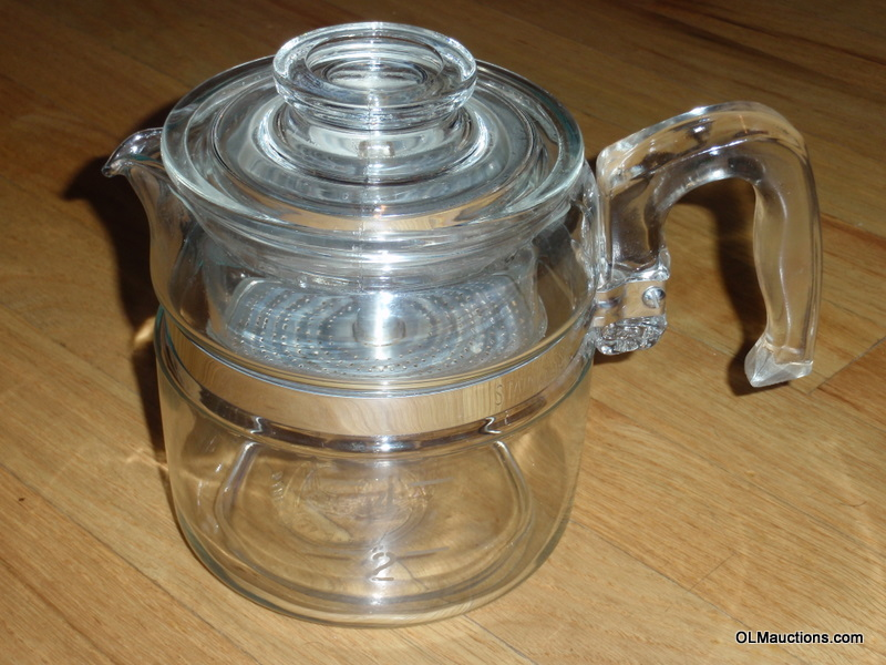 Pyrex Coffee Maker How To Use : Internet Superstores: Pyrex Glass 4 Cup Coffee Percolator Pot 7754 B